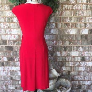 Evan Picone Dresses - EUC BLACK LABEL by EVAN PICONE Exquisite Red Dress